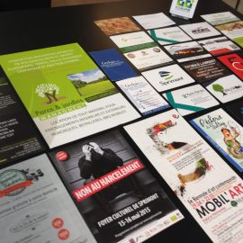 FLYERS CARTES DE VISITE IMPRESSION CREATION BOGRAPHIK LIEGE