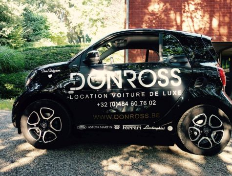 LETTRAGE VOITURE SMART DONROSS BOGRAPHIK LIEGE