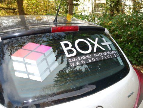 LETTRAGE VOITURE VEHICULE LIEGE BOGRAPHIK SPRL BOX PLUS