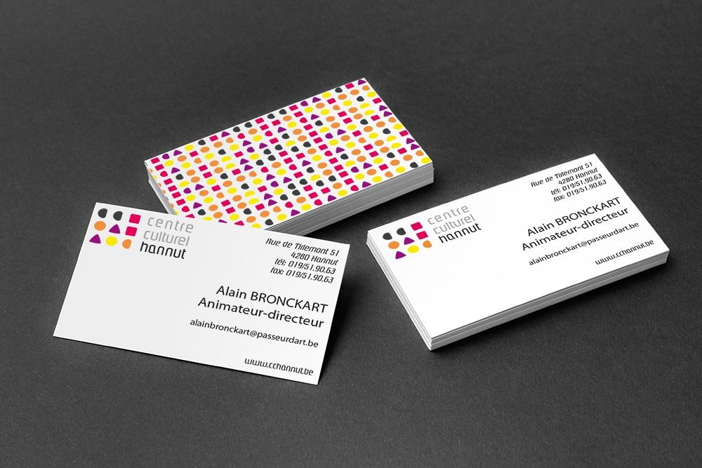 Cartes De Visite Bographik Les Realise Et Imprime Design