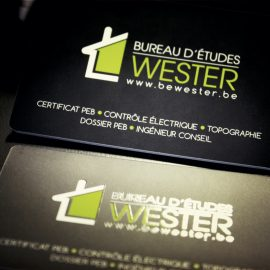 carte visite bewester