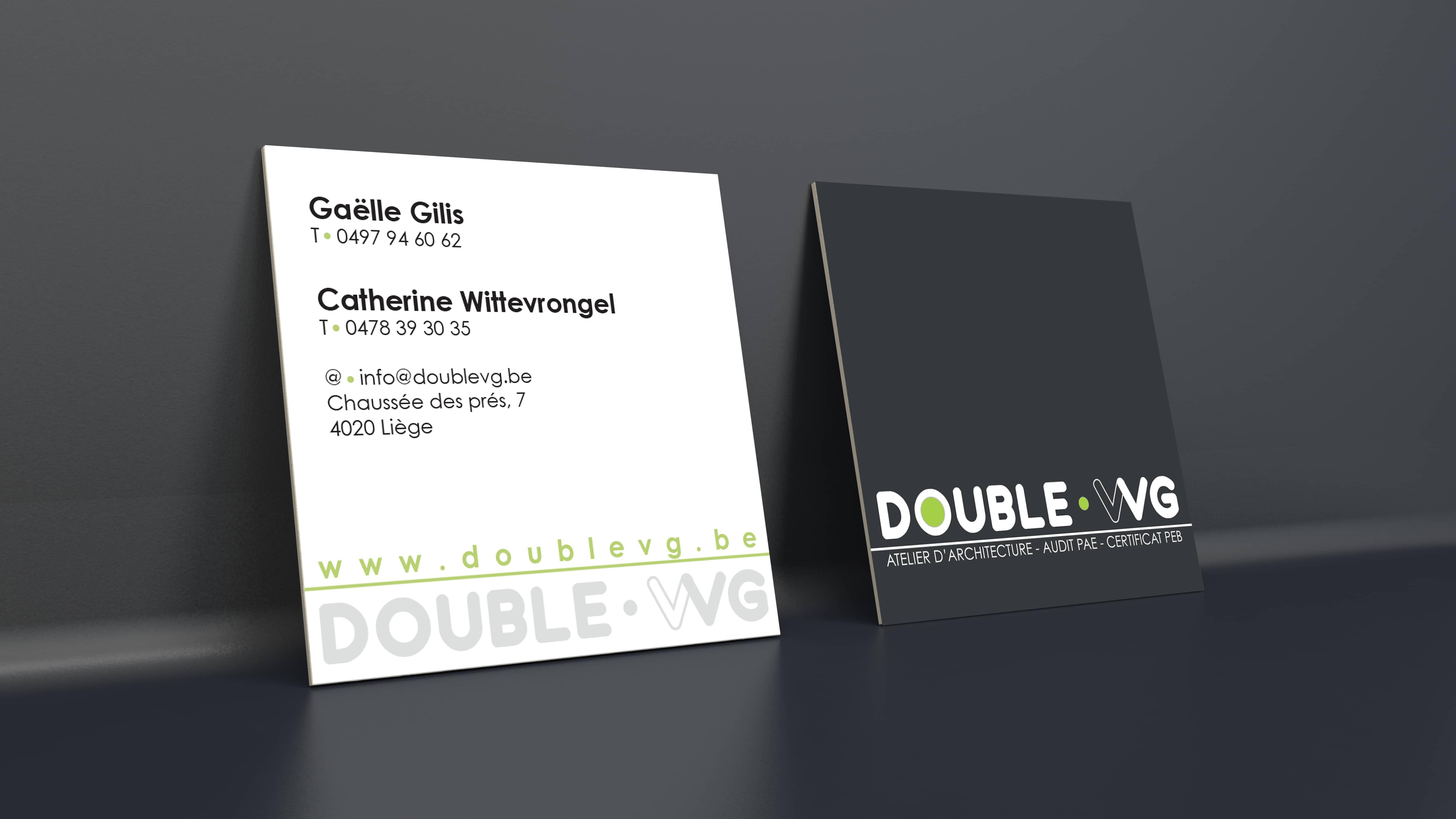 Cartes De Visite Doublevg