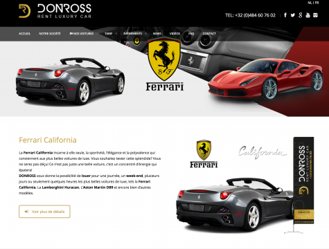 creation-site-vitrine-donross-location-voiture-luxe-bographik-liege